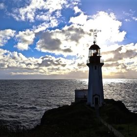 lighthouse In Shadow