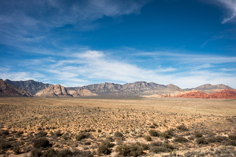 On a visit to Las Vegas we drove out to the desert to shoot some beautiful landscapes.