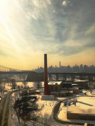 NYC Smokestack