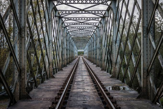 The railroad bridge by amazed - Parallel Compositions Photo Contest