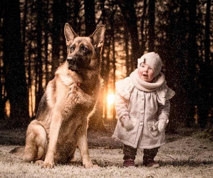 Waiting for santa by Kraftimage - Children and Animals Photo Contest