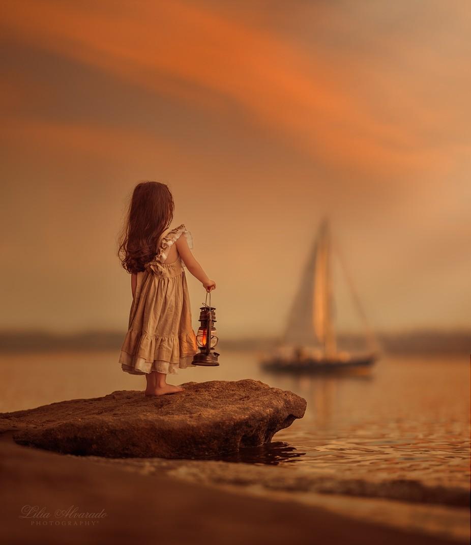 LET YOUR DREAMS SAIL... by liliaalvarado - A Fantasy World Photo Contest