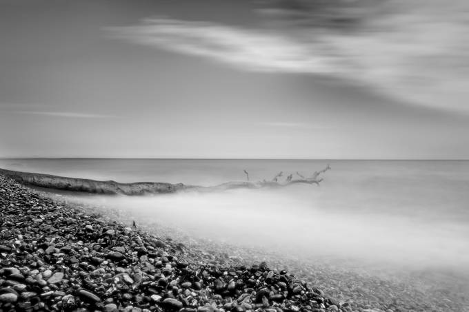 Ruegen - Kap Arkona by MartinSlottaPhotographie - The Water In Black And White Photo Contest