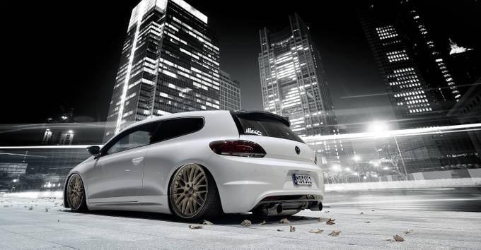 Nightshoot - VW Scirocco by MartinSlottaPhotographie - Experimental Light Photo Contest
