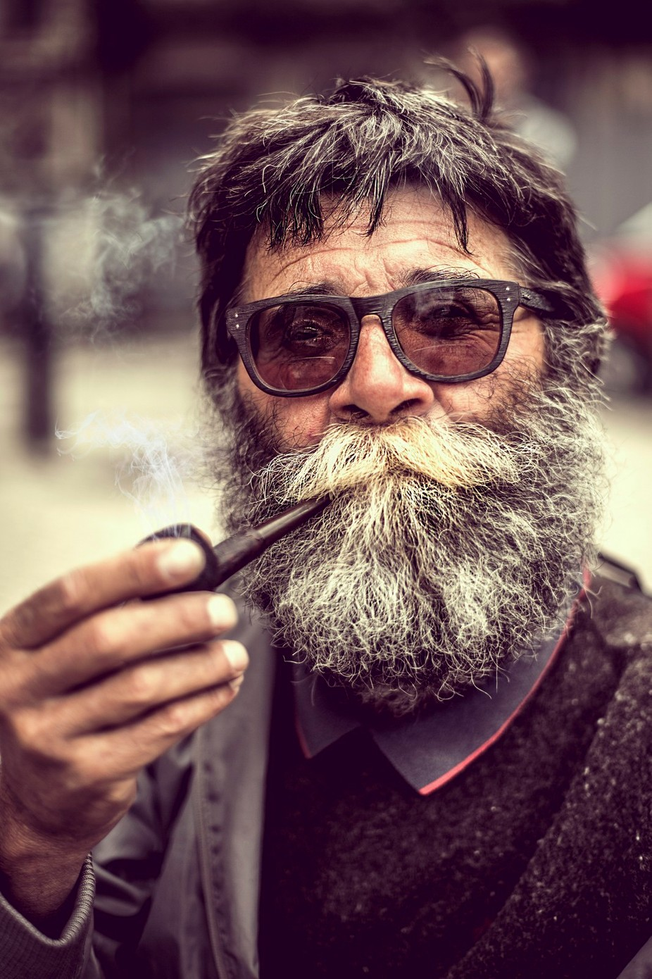 Beard Guy by pedropulido - Movember Photo Contest