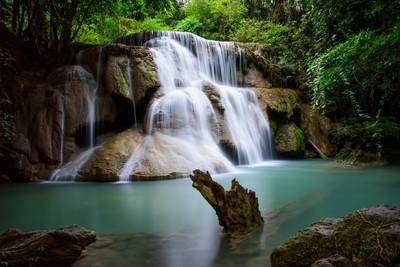 Huay Mae Kamin Waterfall - Level 4