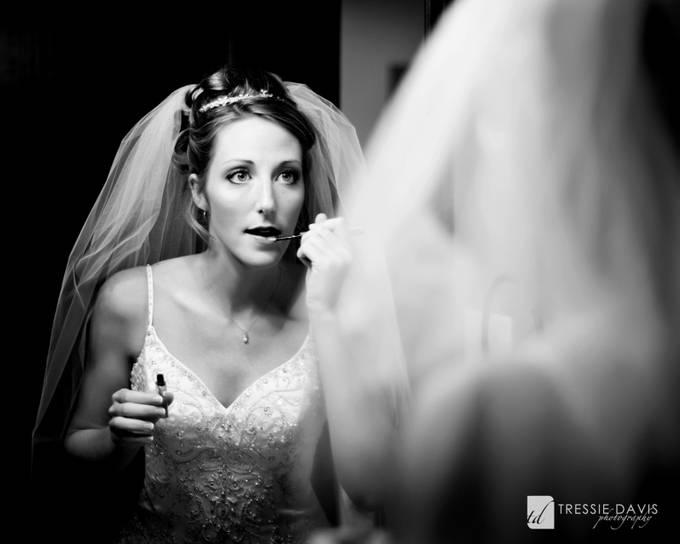 The Bride by tressiedavis - The Face in the Mirror Photo Contest