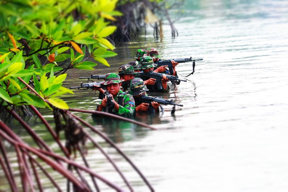 Indonesian Marine Soldiers