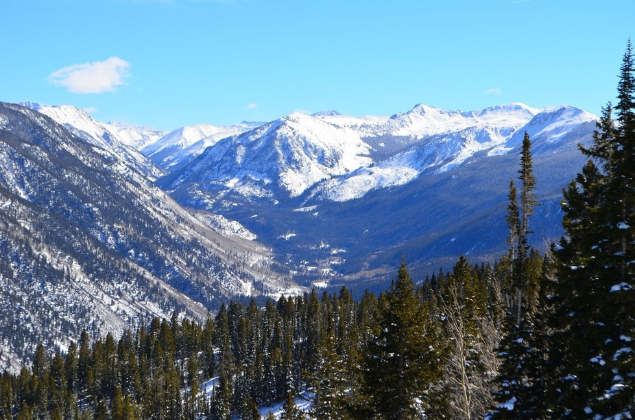 Gorgeous landscape in Aspen, CO. Taken with our Nikon D5100. On our honeymoon.