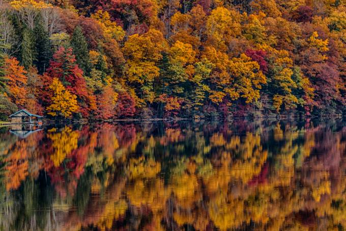 Reflections on a Fall Day by johnkimball - Alluring Landscapes Photo Contest