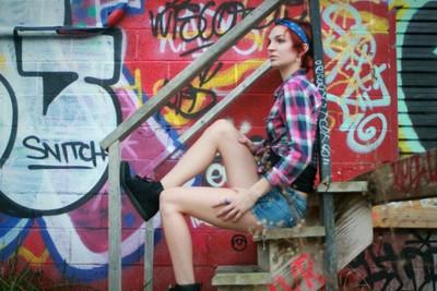 Girl On Steps-KME