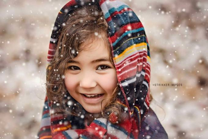 Chloe's Winter by StrikkerImages - Smize Photo Contest
