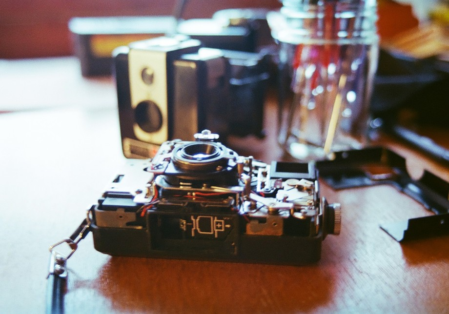 I've recently started restoring old manual cameras. And what better way to restore than ...