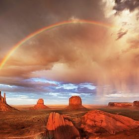 This photograph was taken during a trip to Monument Valley.