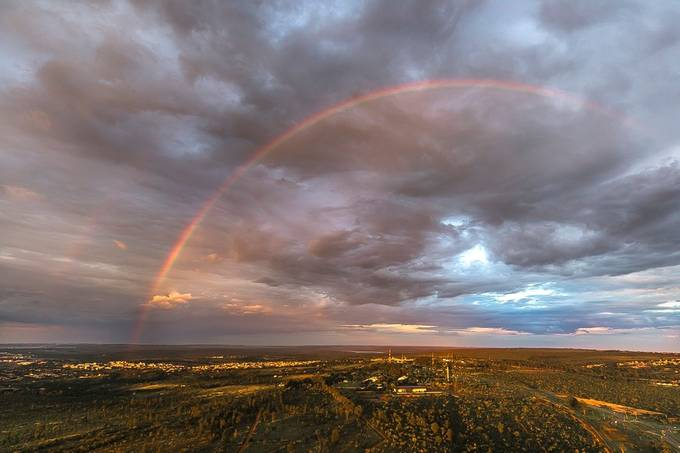 """Climate change color"" by diegobaravelli - Rainbows Overhead Photo Contest"