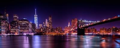 Bridge into Manhattan
