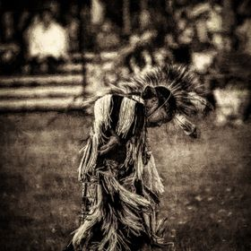Shot at a Pow Wow at Discovery Park in Seattle