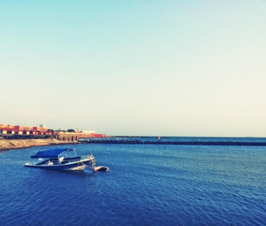 Resort sea side view