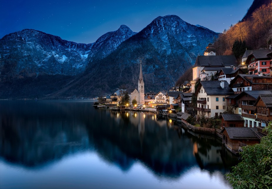Hallstatt, Austria This was a short 75km drive away from Salzburg and was one of the most beautif...