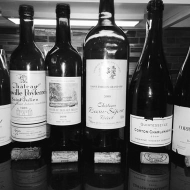 Burgundy and Bordeaux together for a recent wine tasting event.