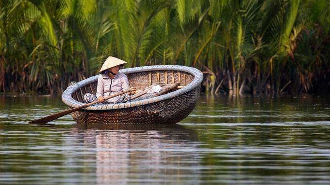 Vietnam Woman by TrueNorthImages - People And Water Photo Contest 2017