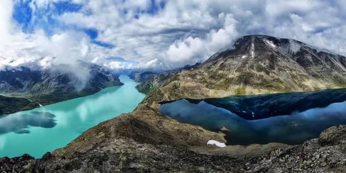 Besseggen trail by nielsvanloenhout - A World Of Blue Photo Contest