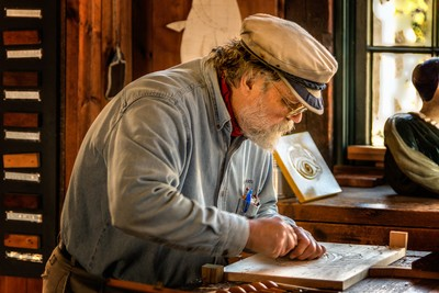 The Ship's Woodcarver