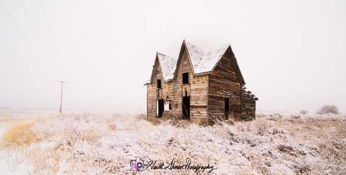 Gable House Fog by HIPHeidiIhnen - Overexposure Photo Contest