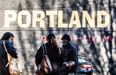 A moment in Portland
