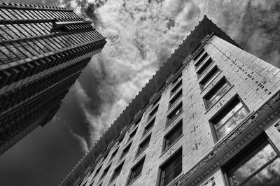 Looking up in Denver