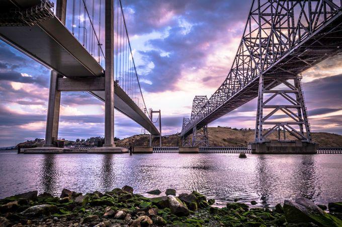 Carquinez Bridges by MikeVinceD - Monthly Pro Vol 21 Photo Contest