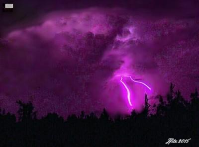 Thunder Rolls but Lightning Strikes