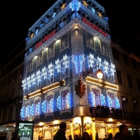 Building at Christmas