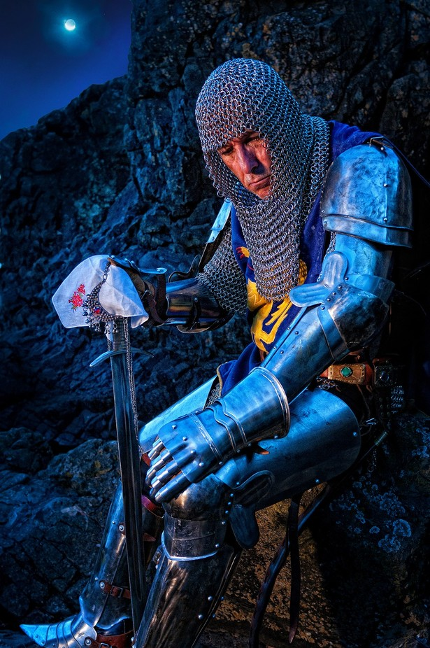 The Knight of Might by derekgalon - Gloves Photo Contest