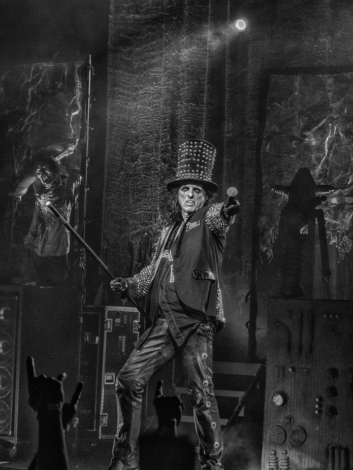 Alice Cooper BandW concert photo Louisville 2012 by Coachtaylor72 - On Stage Photo Contest