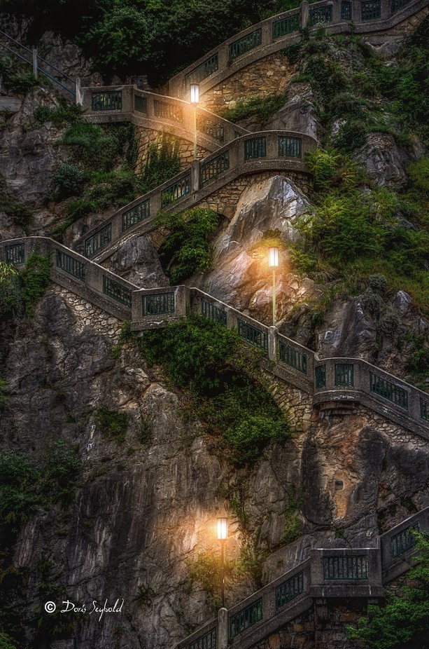 Staircases by DorisSeybold - Stairways Photo Contest