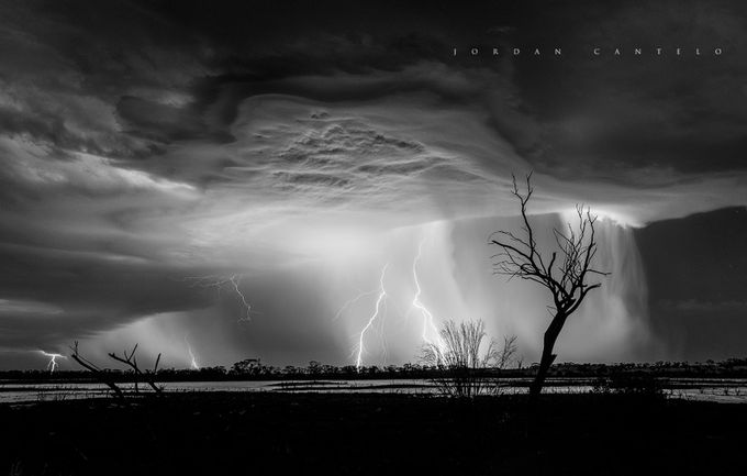 Corrogin Summer Storm Structure  by jordancantelo - Black And White Wow Factor Photo Contest