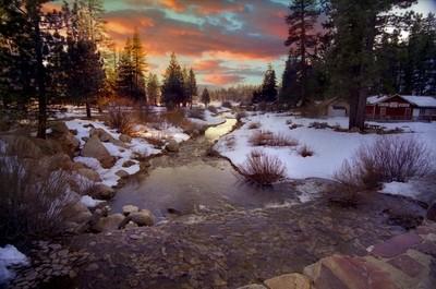 Big Bear Lake sunset 02aa