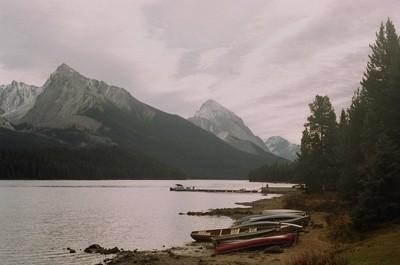 Maligne Lake, Jasper.