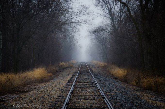 Down the Line by TheRogueToad - Empty Railways Photo Contest