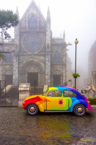 Eerily Gothic Volkswagen