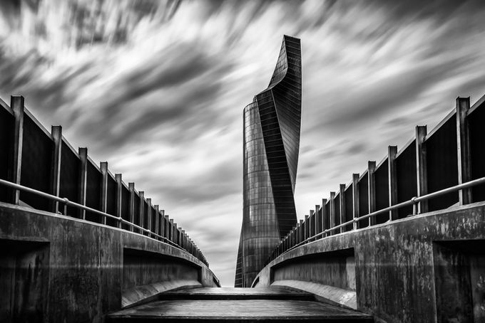The Twisted Tower by mohammadmirza - Black And White Wow Factor Photo Contest