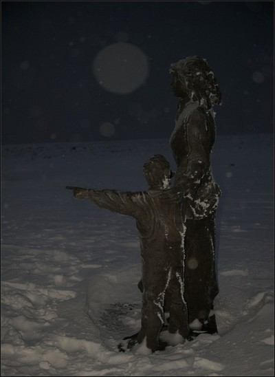 Together in the polar night