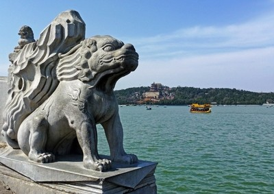 Summer Palace Statue
