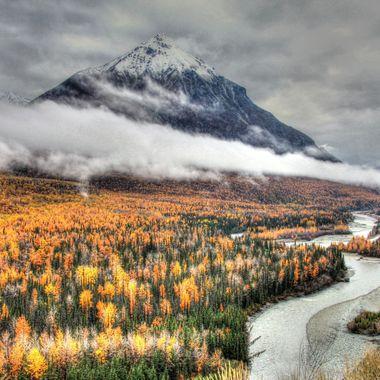Autumn in the Matanuska Valley, Alaska