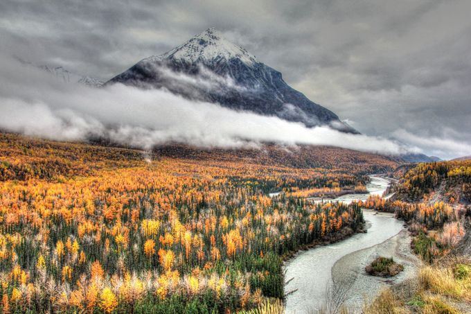 Autumn in the Matanuska Valley, Alaska