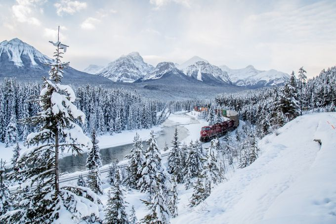 Winter in The Rockies by Tim-Hall - World Expeditions Photo Contest