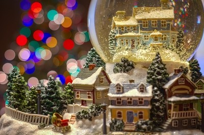 Christmas Within the Globe