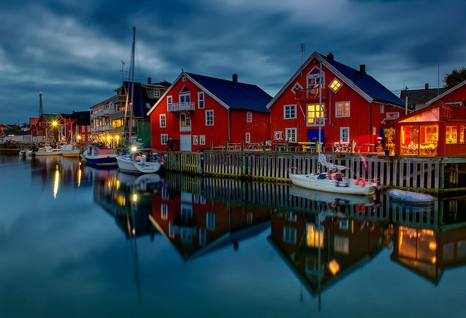 Fisherman village Norway by aidagri - Architecture And Reflections Photo Contest