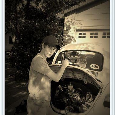 daltons 1st car 67VW Beetle